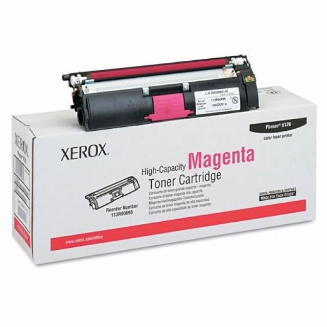 Xerox 113R00695 оригинална червена тонер касета