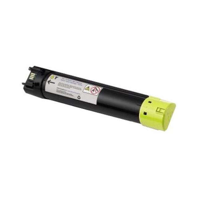 Dell 593-10924 оригинална жълта тонер касета за 5130cdn
