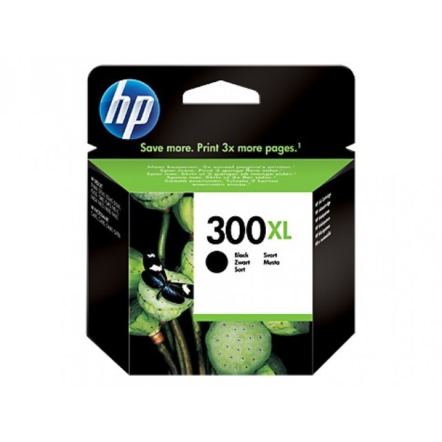 HP CC641EE черна мастилена касета 300XL