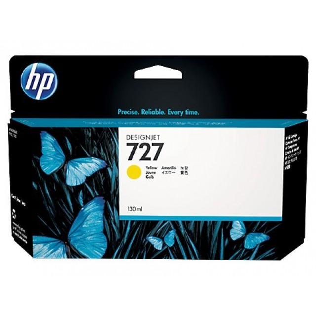 HP B3P21A жълта мастилена касета 727