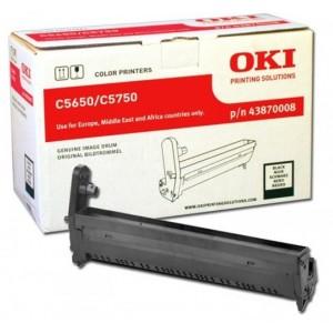 OKI 43870008 оригинален черен барабанен модул за C5650/C5750