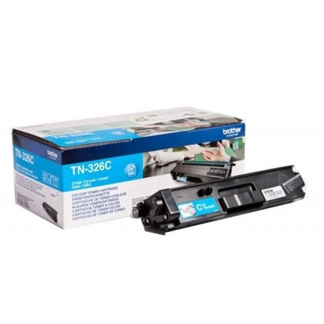 Brother TN-326C оригинална синя тонер касета