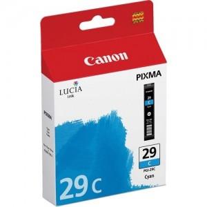 Canon PGI-29C синя мастилена касета