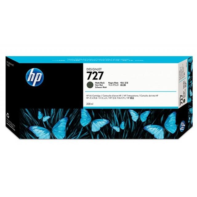 HP C1Q12A черен мат мастилена касета 727