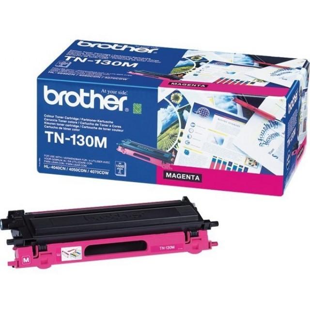 Brother TN-130M оригинална червена тонер касета