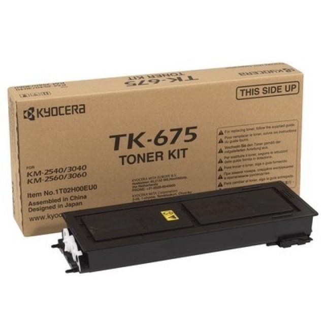 Kyocera TK-675 оригинална черна тонер касета
