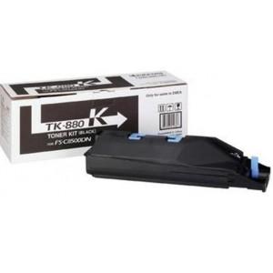 Kyocera TK-880K оригинална черна тонер касета