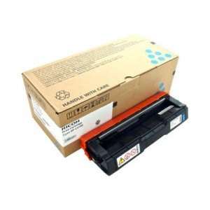 Ricoh SPC310HYCYN оригинална синя тонер касета 406480