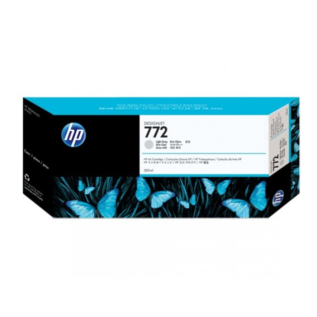 HP CN634A светло сива мастилена касета 772