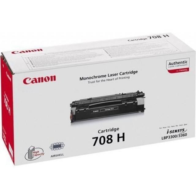 Canon CRG-708H оригинална черна тонер касета