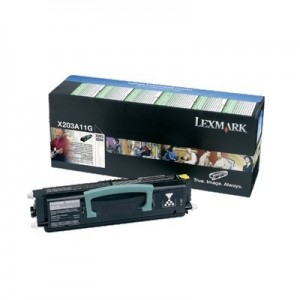 Lexmark X203A11G оригинална черна тонер касета (Return Program)