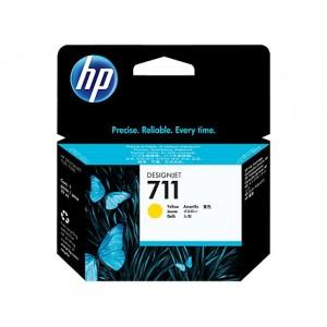 HP CZ132A жълта мастилена касета 711