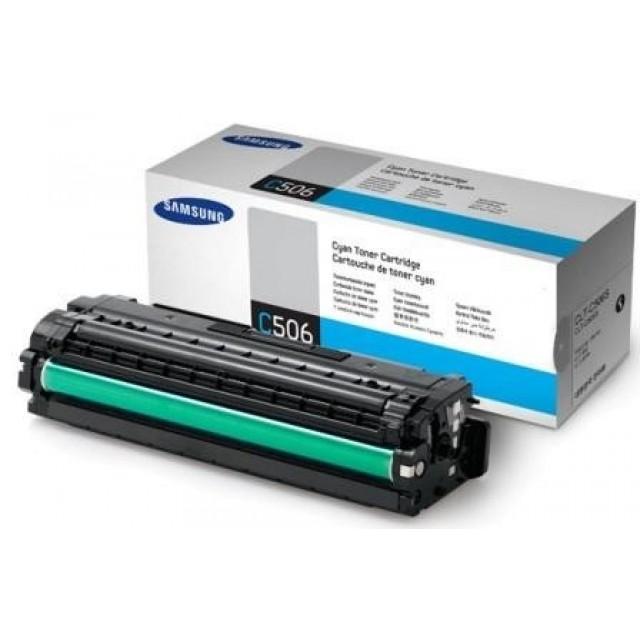 Samsung CLT-C506S оригинална синя тонер касета