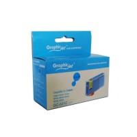 Canon CLI-521C съвместима синя мастилена касета GraphicJet