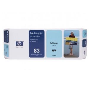HP C4944A светло синя UV мастилена касета 83