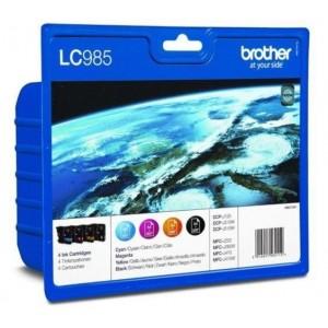 Brother LC-985 комплект CMYK мастилени касети