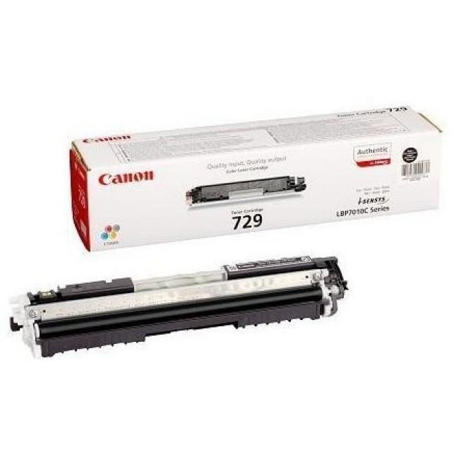 Canon CRG-729Y оригинална жълта тонер касета