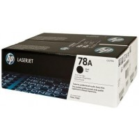 HP CE278AD двоен пакет оригинални черни тонер касети 78A