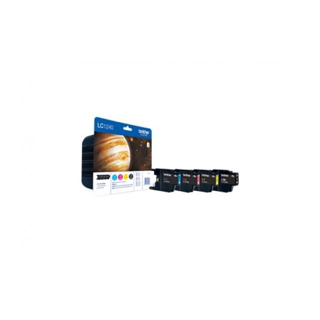 Brother LC-1240 комплект CMYK мастилени касети