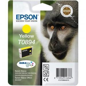 Epson T0894 жълта мастилена касета