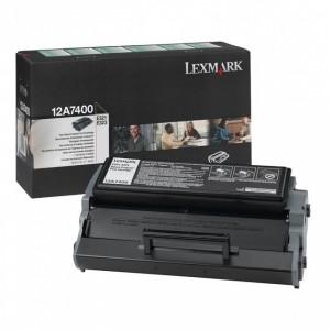 Lexmark 12A7400 оригинална черна тонер касета (Return Program)