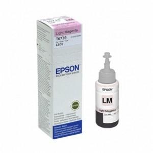 Epson T6736 светлочервено мастило бутилка