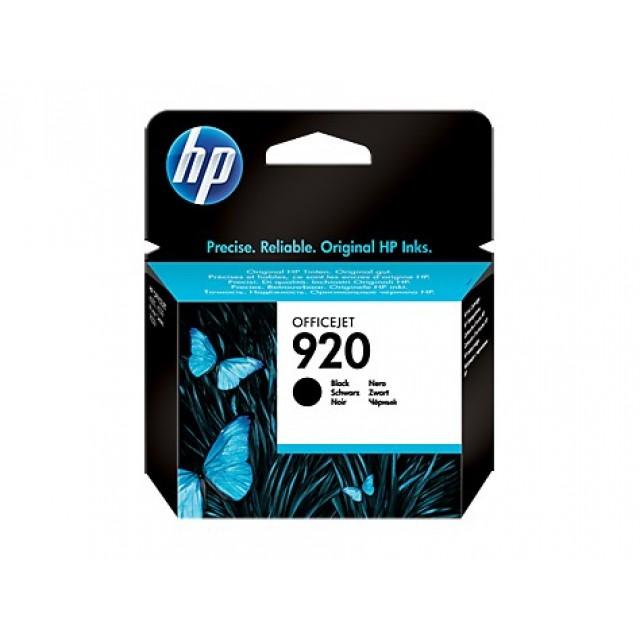 HP CD971AE черна мастилена касета 920