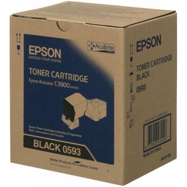 Epson C13S050593 оригинална черна тонер касета