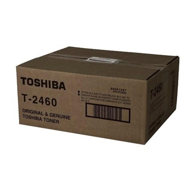 Toshiba T-2460 оригинална черна тонер касета