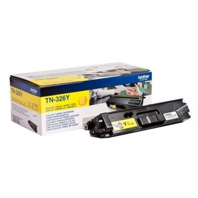 Brother TN-326Y оригинална жълта тонер касета