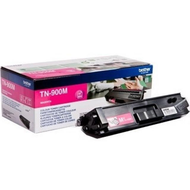 Brother TN-900M оригинална червена тонер касета