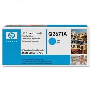 HP Q2671A оригинална синя тонер касета 309A