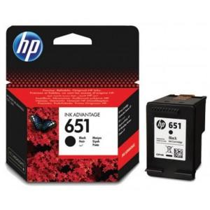 HP C2P10AE черна мастилена касета 651