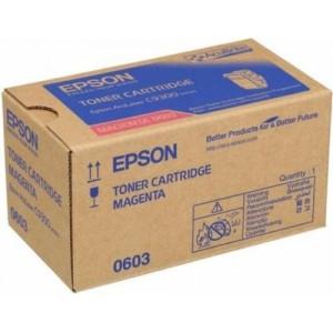 Epson C13S050603 червена оригинална тонер касета