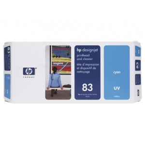 HP C4961A синя UV печатаща глава 83
