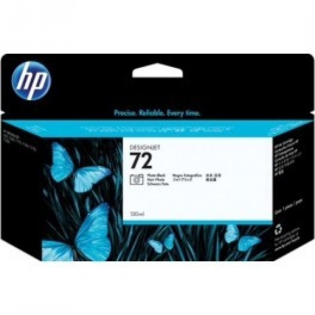 HP C9370A фото черна мастилена касета 72