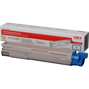 OKI 43459435 оригинална синя тонер касета