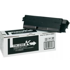 Kyocera TK-590K оригинална черна тонер касета
