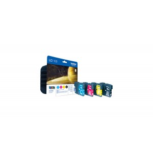 Brother LC-1100 комплект CMYK мастилени касети