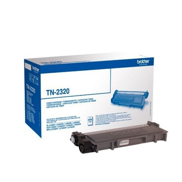 Brother TN-2320 оригинална черна тонер касета