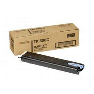 Kyocera TK-800C оригинална синя тонер касета