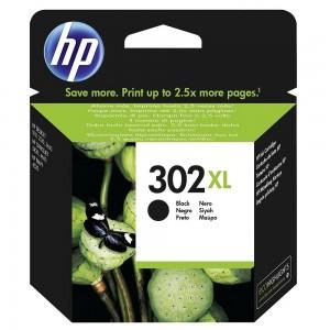 HP F6U68AE черна мастилена касета 302XL