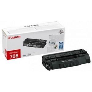 Canon CRG-708 оригинална черна тонер касета