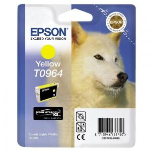 Epson T0964 жълта мастилена касета
