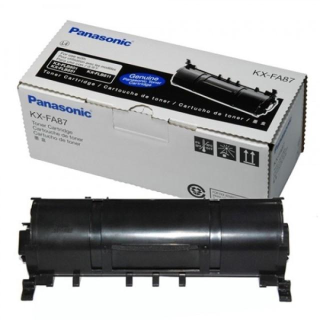Panasonic KX-FA87 оригинална черна тонер касета
