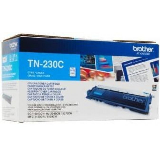 Brother TN-230C оригинална синя тонер касета