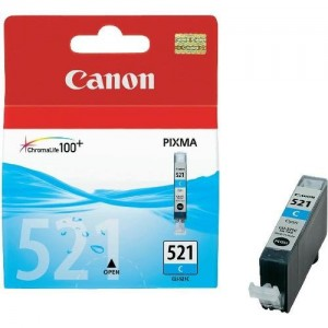 Canon CLI-521C синя мастилена касета