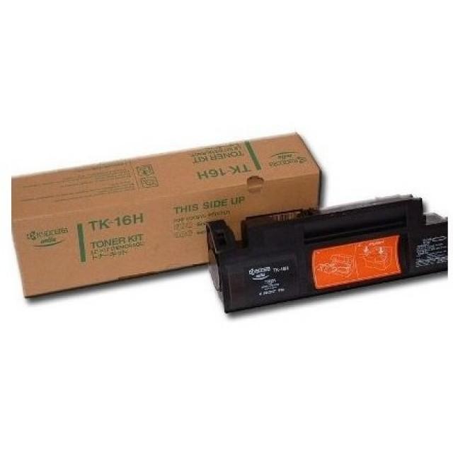Kyocera TK-16H оригинална черна тонер касета