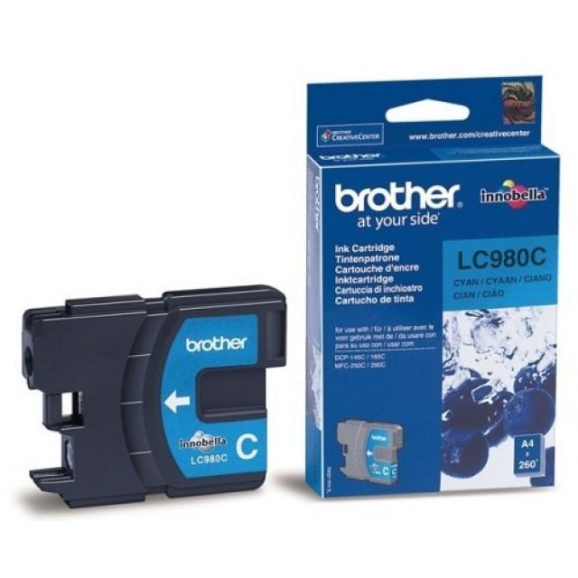 Brother LC-980C синя мастилена касета