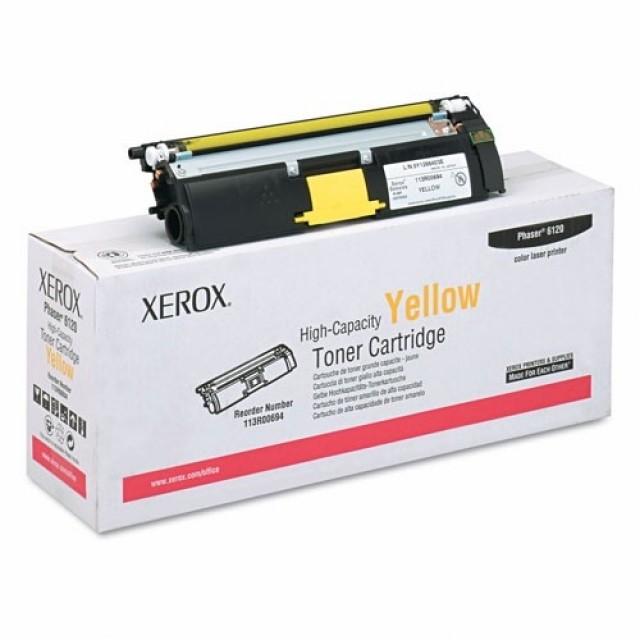 Xerox 113R00694 оригинална жълта тонер касета